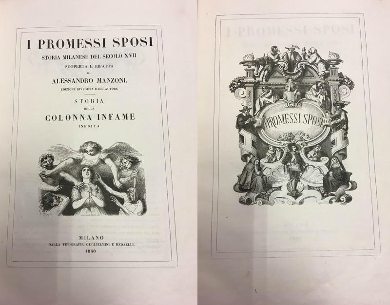 I Promessi Sposi: copia originale