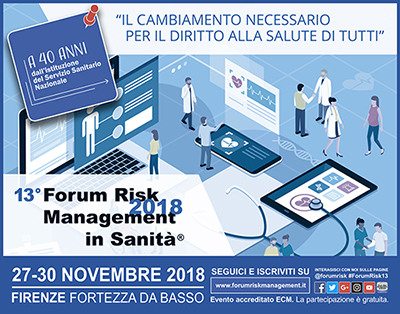 13° Forum Risk Management in Sanità