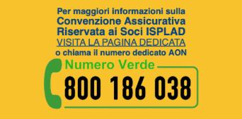 ISPLAD - Informazioni convenzione assicurativa