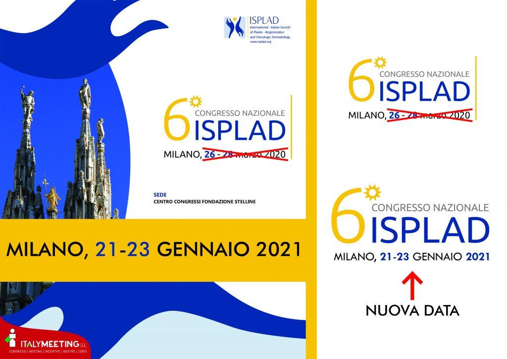 Congresso ISPLAD rinviato al 21-23 gennaio 2021